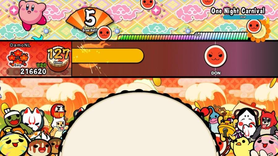 Taiko no Tatsujin: Drum 'n' Fun! Review - Screenshot 1 of 4