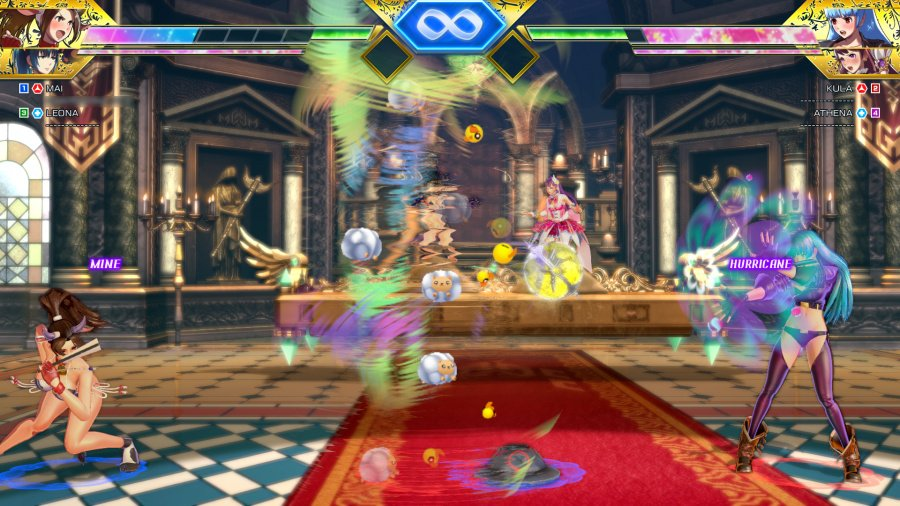 SNK Heroines: Tag Team Frenzy Review - Screenshot 2 of 6