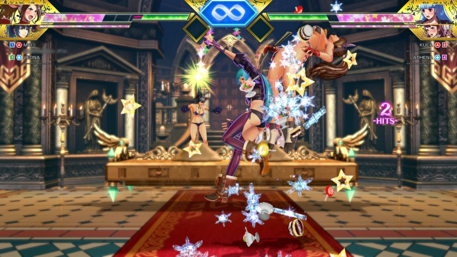 SNK Heroines: Tag Team Frenzy Review - Screenshot 3 of 6