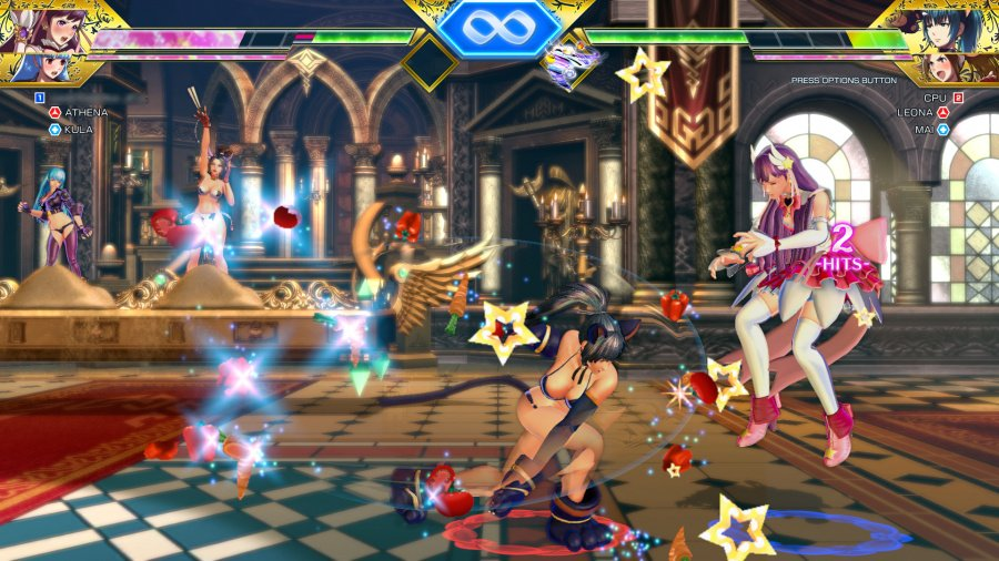 SNK Heroines: Tag Team Frenzy Review - Screenshot 1 of 6