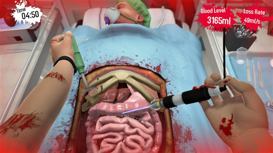 Surgeon Simulator CPR Review - Screenshot 2 of 4