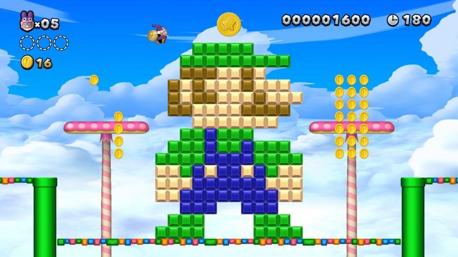 New Super Mario Bros. U Deluxe Review - Screenshot 1 of 5