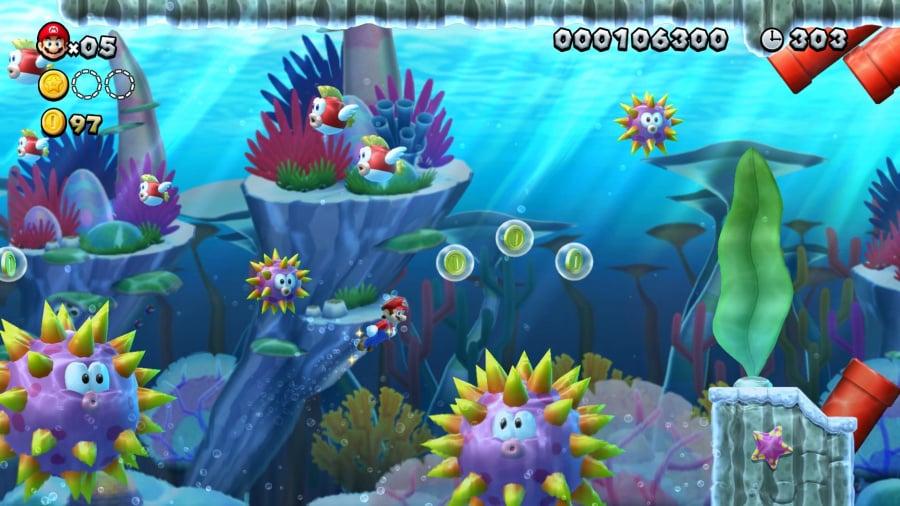 New Super Mario Bros. U Deluxe Review - Screenshot 2 of 4