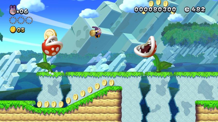 New Super Mario Bros. U Deluxe Review - Screenshot 2 of 5