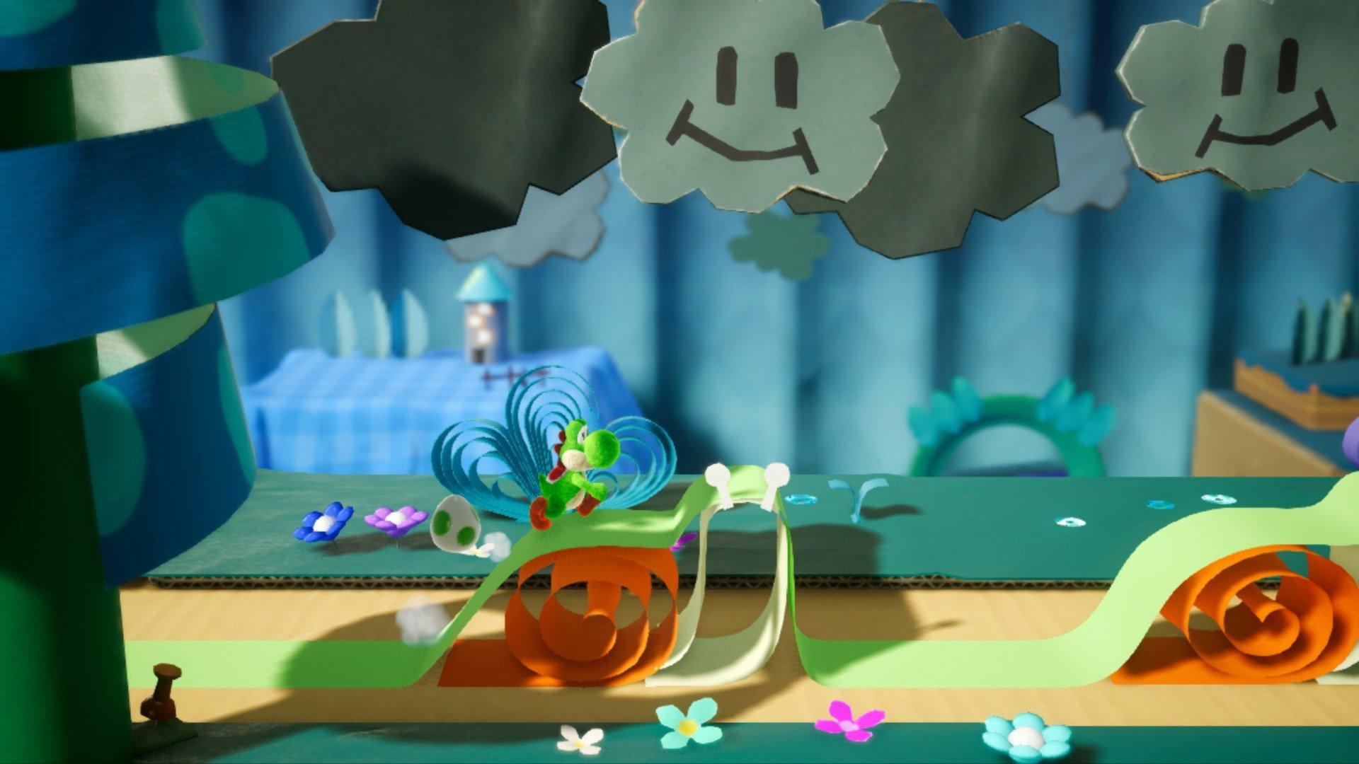 Yoshi's Crafted World (Nintendo Switch) Screenshots