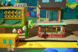 Yoshi's Crafted World Screenshot