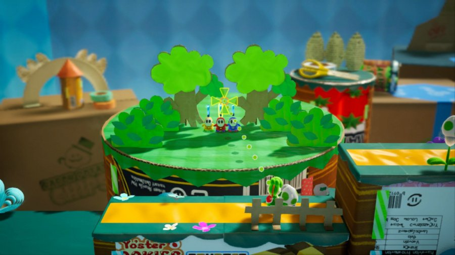 Yoshi's Crafted World Review - Screenshot 3 of 6