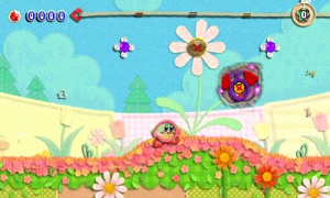 Kirby's Extra Epic Yarn Review - Screenshot 1 of 5