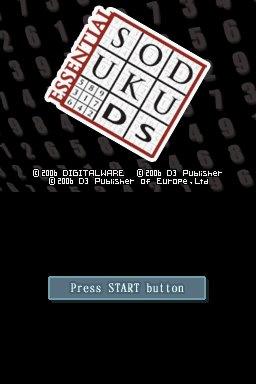 Essential Sudoku Screenshot
