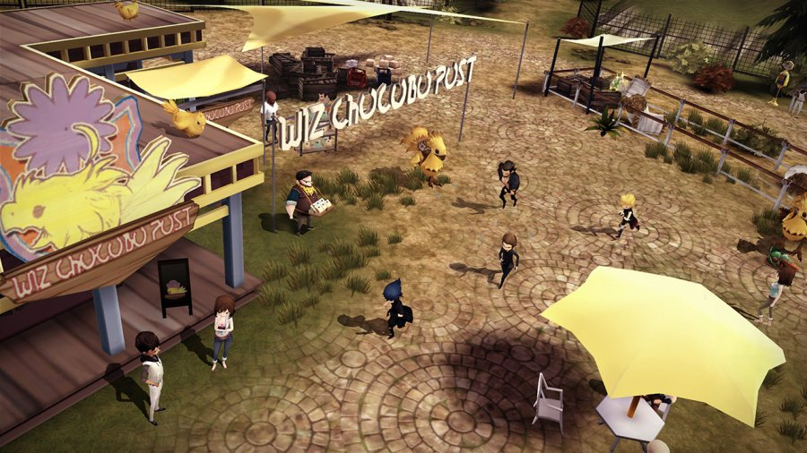 Final Fantasy XV Pocket Edition HD Review - Screenshot 2 of 4