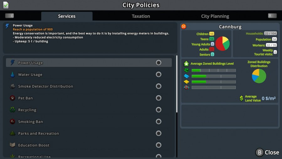 Cities: Skylines - Nintendo Switch Edition Review - Screenshot 2 of 4