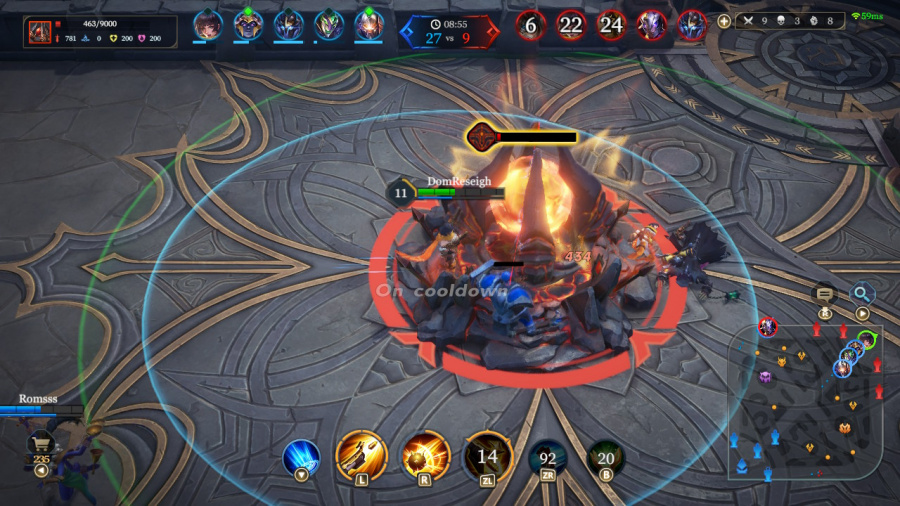 Arena of Valor Review - Screenshot 3 of 4