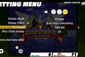 SEGA AGES Sonic The Hedgehog Screenshot