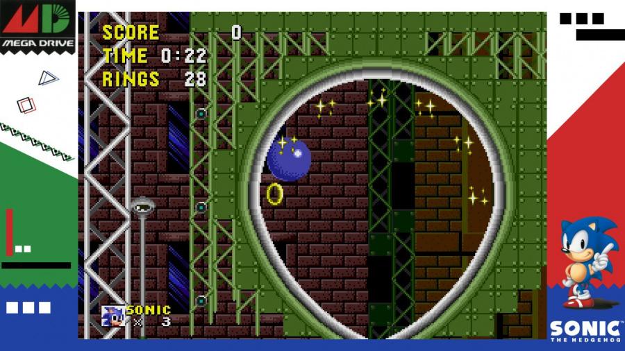 SEGA AGES Sonic The Hedgehog Review - Screenshot 2 of 4