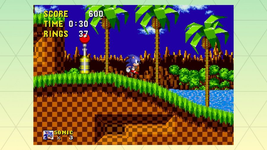SEGA AGES Sonic The Hedgehog Review - Screenshot 1 of 4