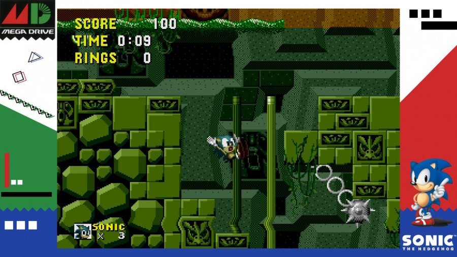 SEGA AGES Sonic The Hedgehog Review - Screenshot 1 of 3