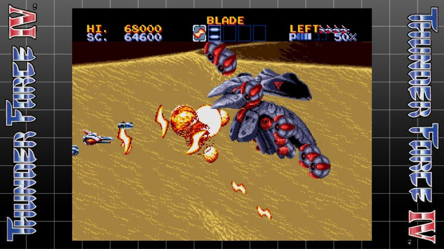 SEGA AGES Thunder Force IV Review - Screenshot 3 of 3