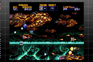 SEGA AGES Thunder Force IV Screenshot