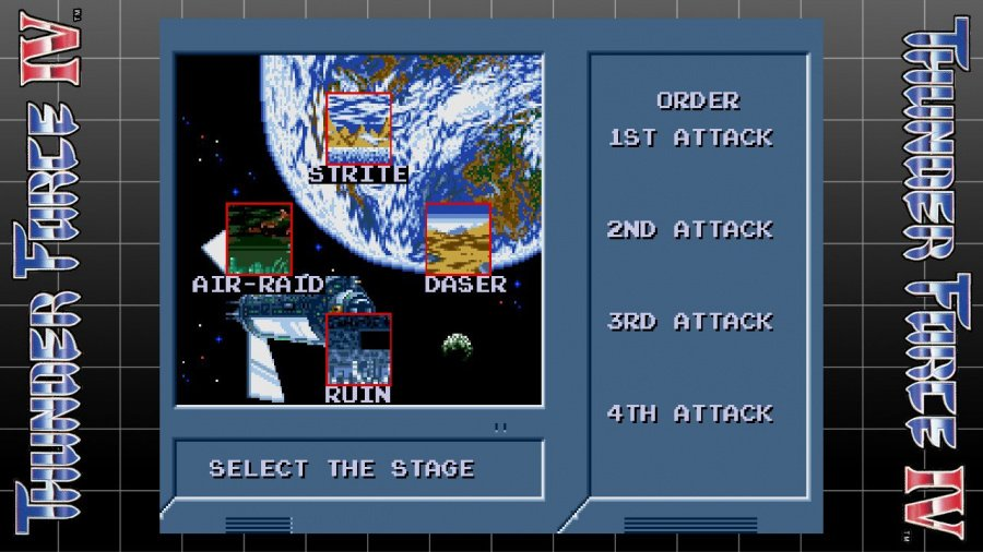 SEGA AGES Thunder Force IV Review - Screenshot 1 of 3