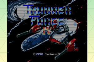 SEGA AGES Thunder Force IV Screenshot
