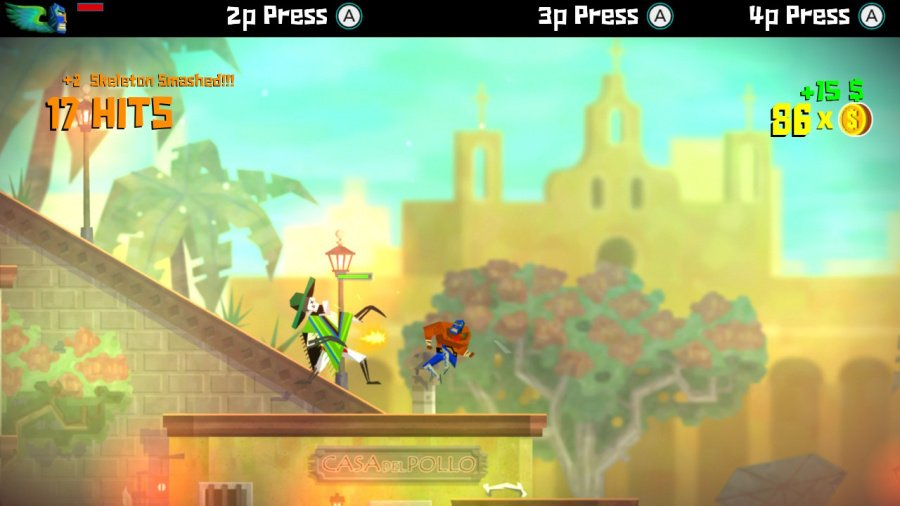 Guacamelee! Super Turbo Championship Edition Review - Screenshot 2 of 3