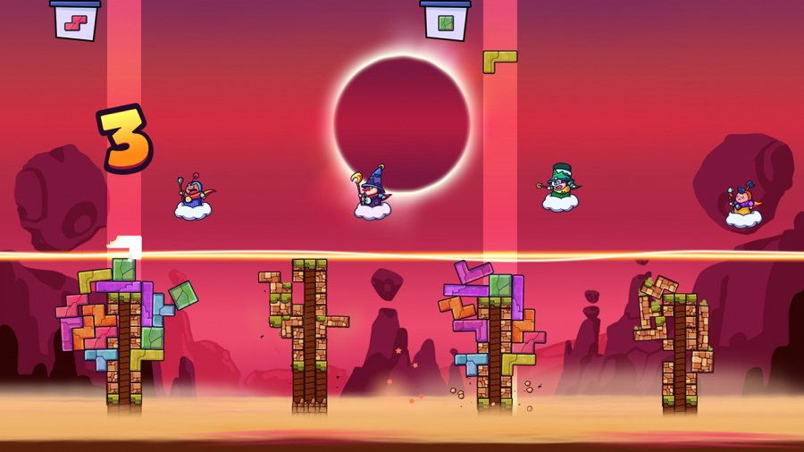 Tricky Towers Review - Screenshot 1 of 5