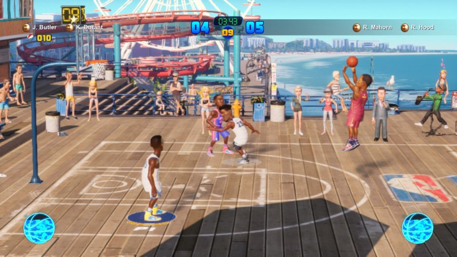 NBA 2K Playgrounds 2 Review - Screenshot 1 of 4
