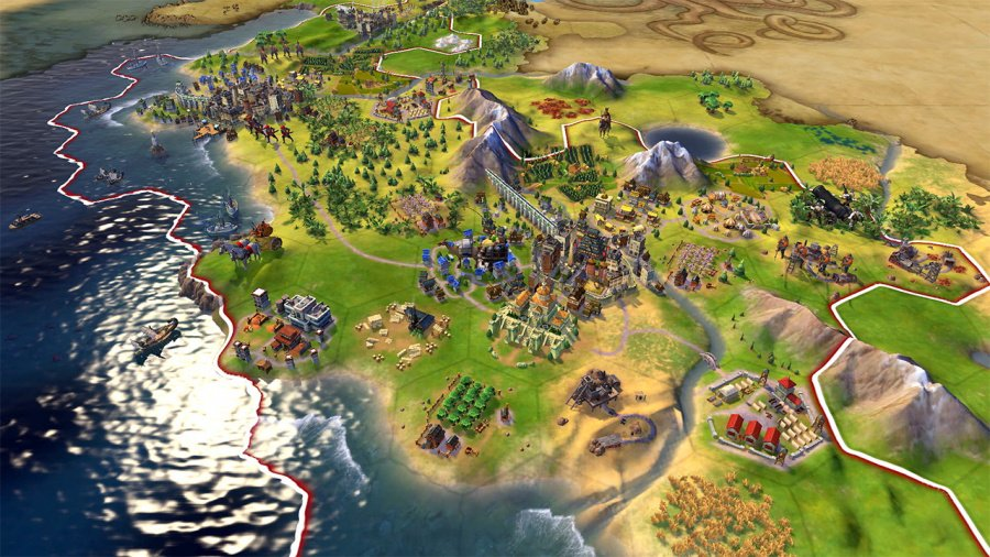 Sid Meier's Civilization VI Review - Screenshot 2 of 6
