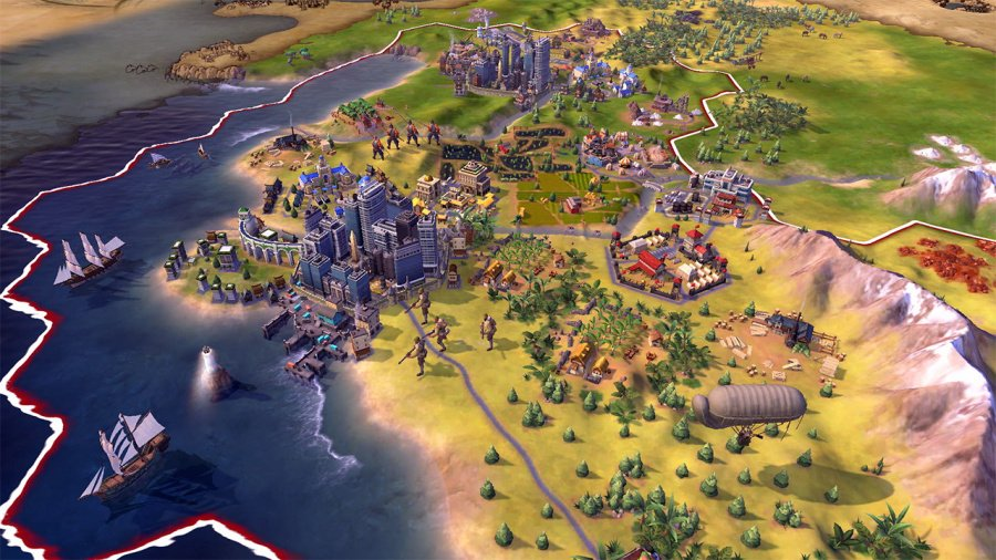 Sid Meier's Civilization VI Review - Screenshot 4 of 6
