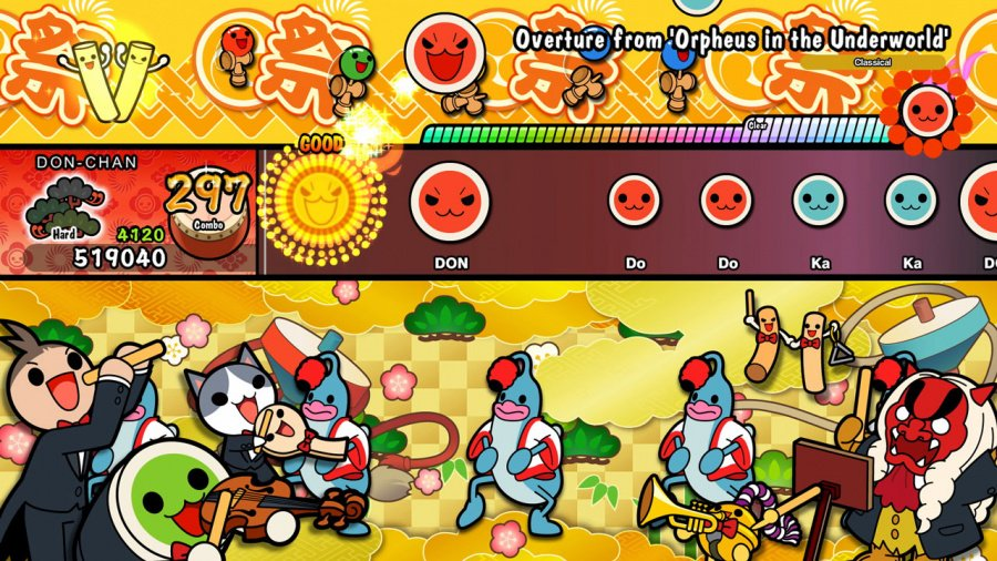Taiko no Tatsujin: Drum'n'Fun! Review - Screenshot 3 of 4