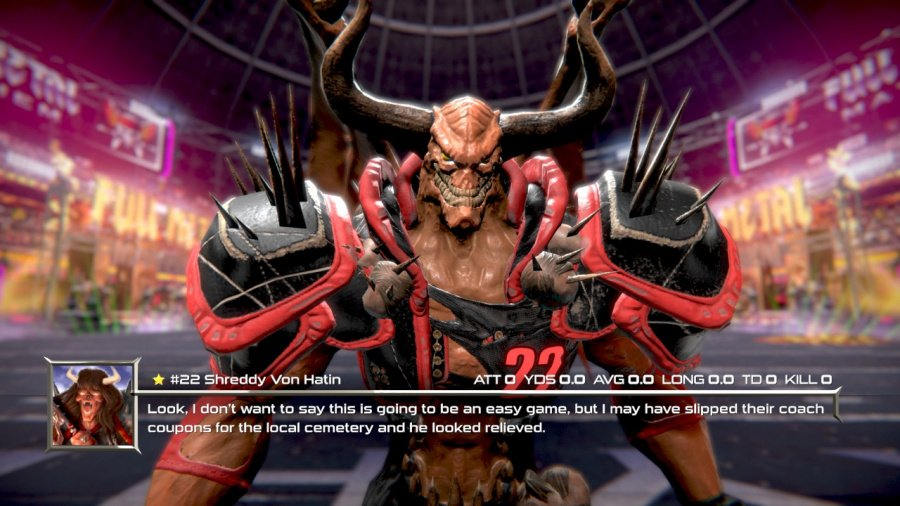 Mutant Football League: Dynasty Edition Review - Screenshot 1 of 4