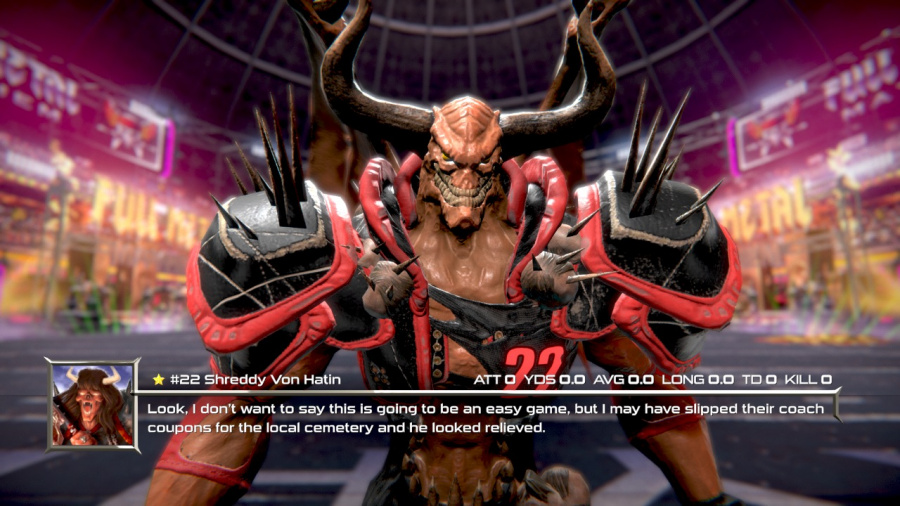 Mutant Football League: Dynasty Edition Review - Screenshot 2 of 4