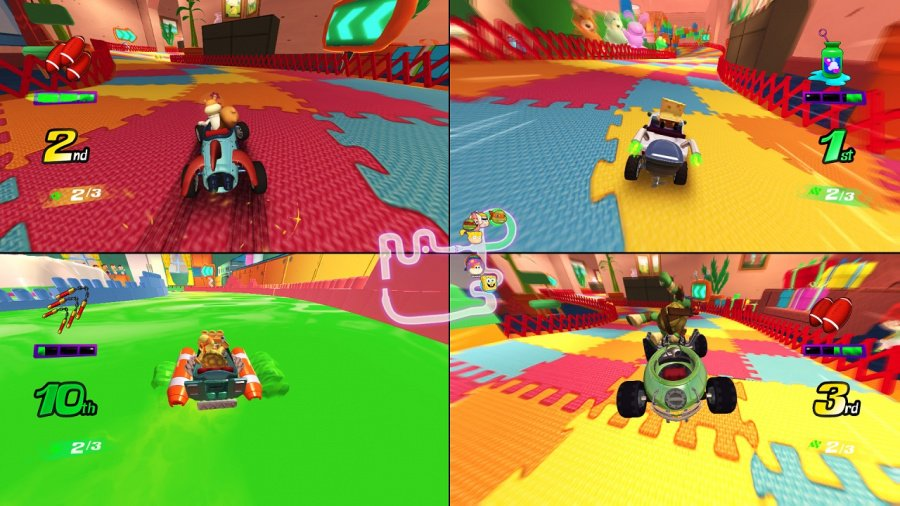 Nickelodeon Kart Racers Review - Screenshot 2 of 5