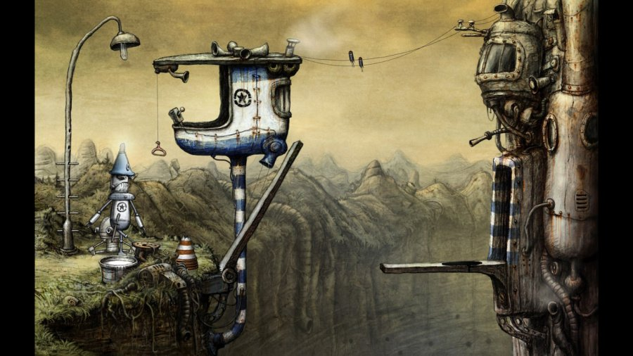 Machinarium Review - Screenshot 1 of 3