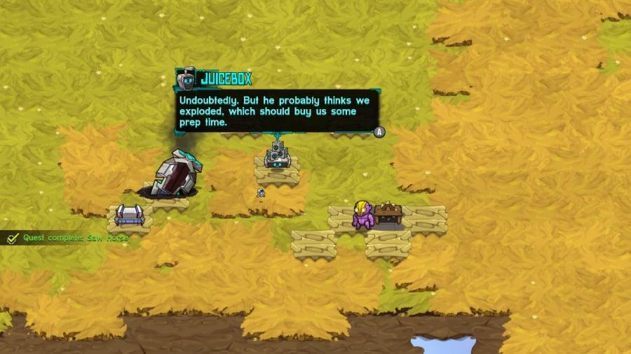 Crashlands Review - Screenshot 1 of 4
