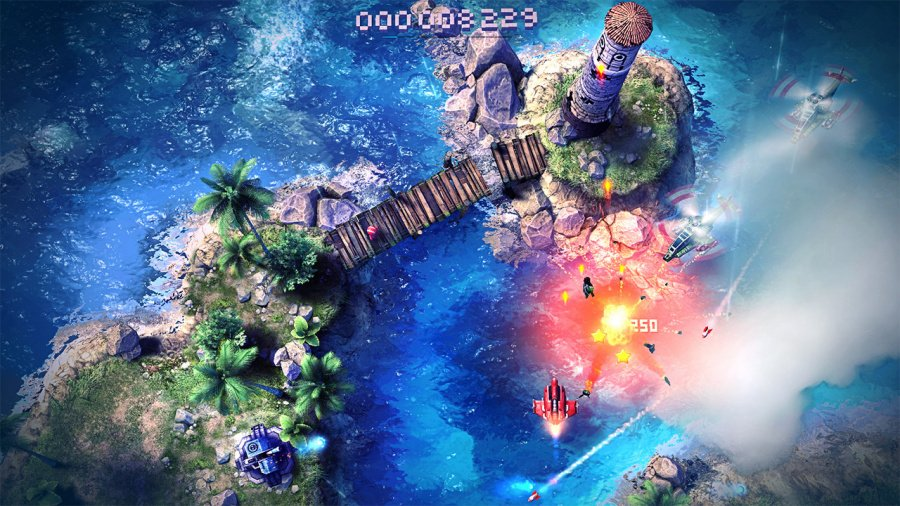Sky Force Anniversary Review - Screenshot 1 of 4