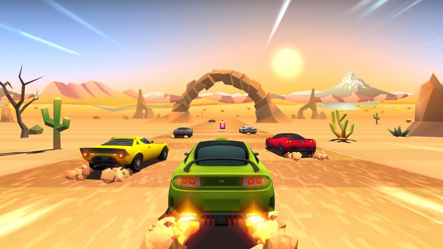 Horizon Chase Turbo Review - Screenshot 2 of 4