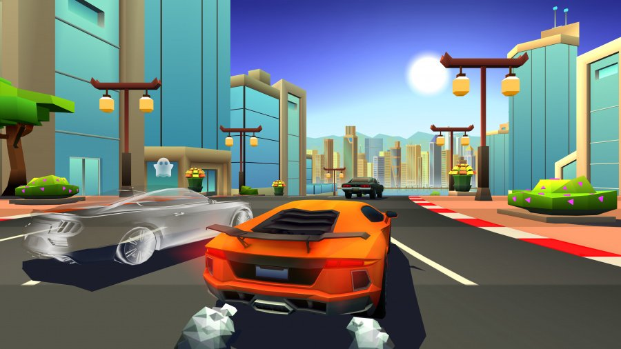 Horizon Chase Turbo Review - Screenshot 3 of 5