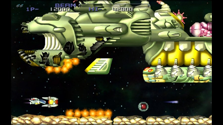 R-Type Dimensions EX Review - Screenshot 1 of 4