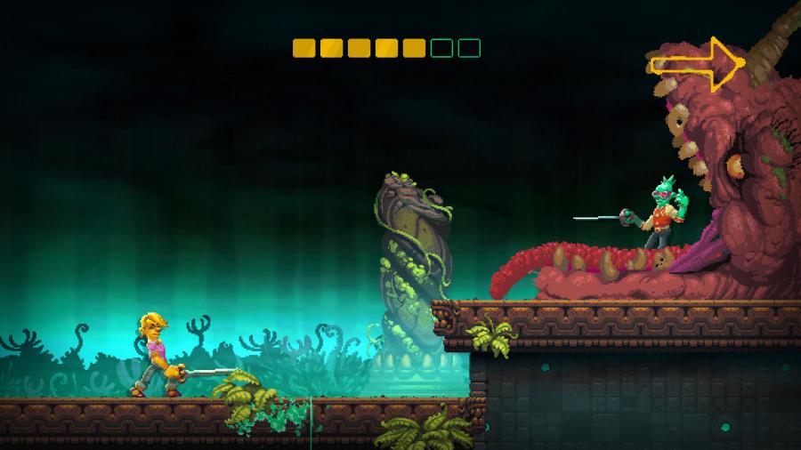 Nidhogg 2 Review - Screenshot 3 of 5