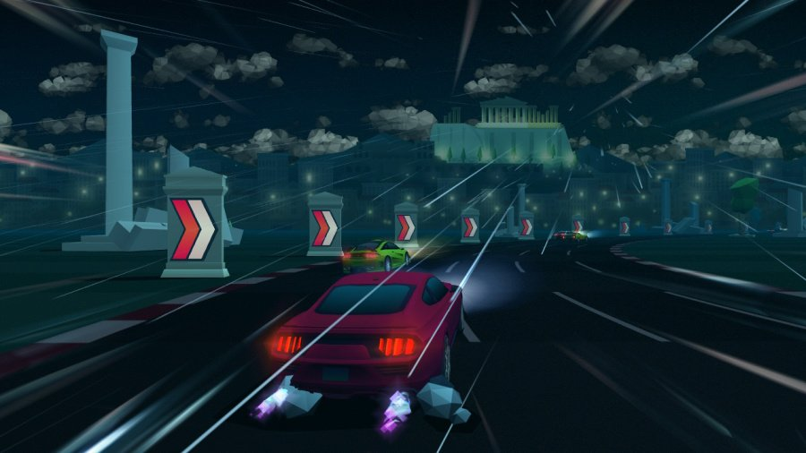 Horizon Chase Turbo Review - Screenshot 3 of 4