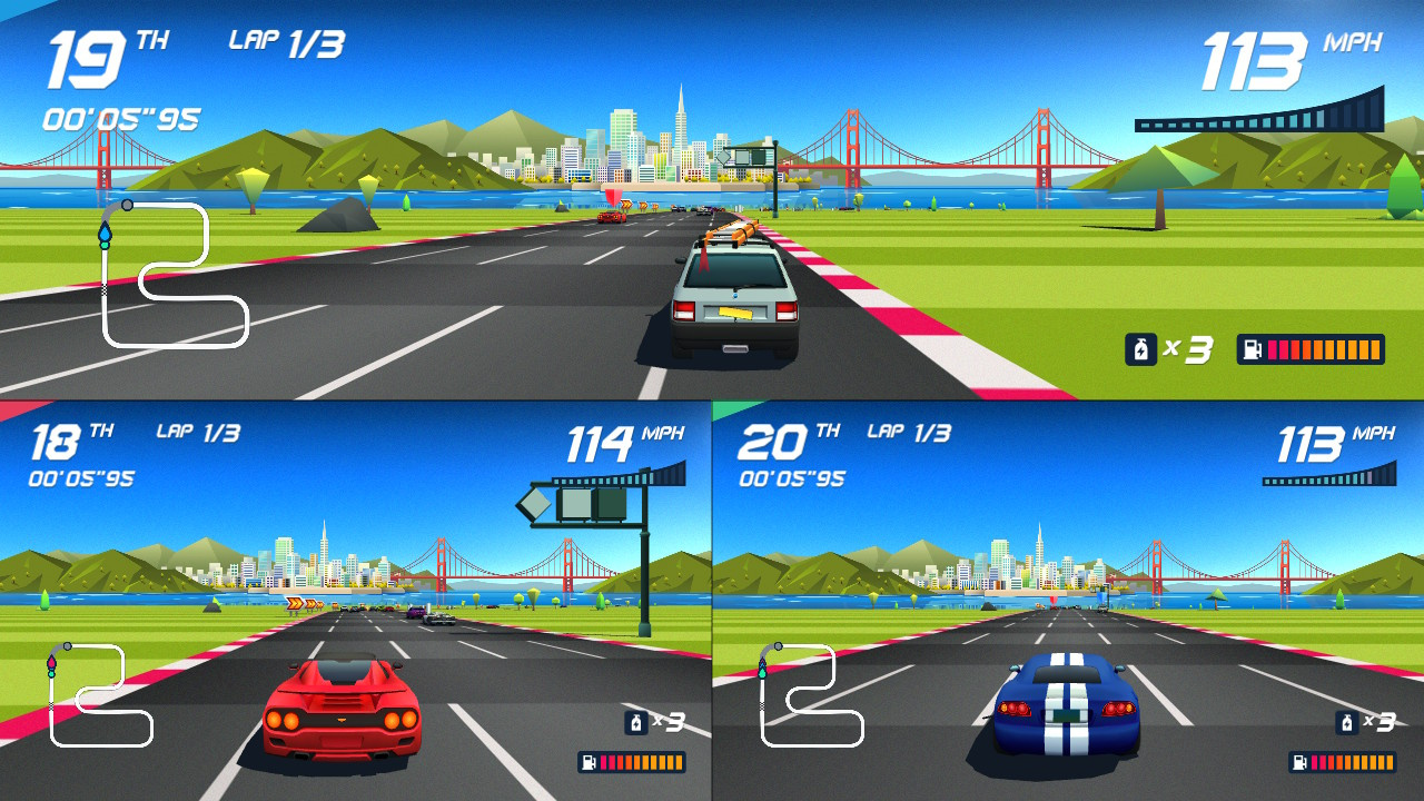 Horizon Chase Turbo Review (Switch eShop)   Nintendo Life