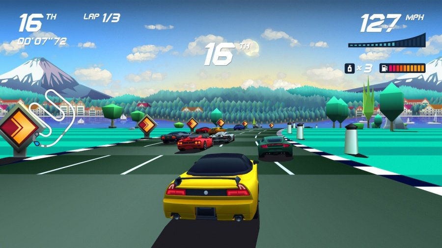 Horizon Chase Turbo Review - Screenshot 1 of 4
