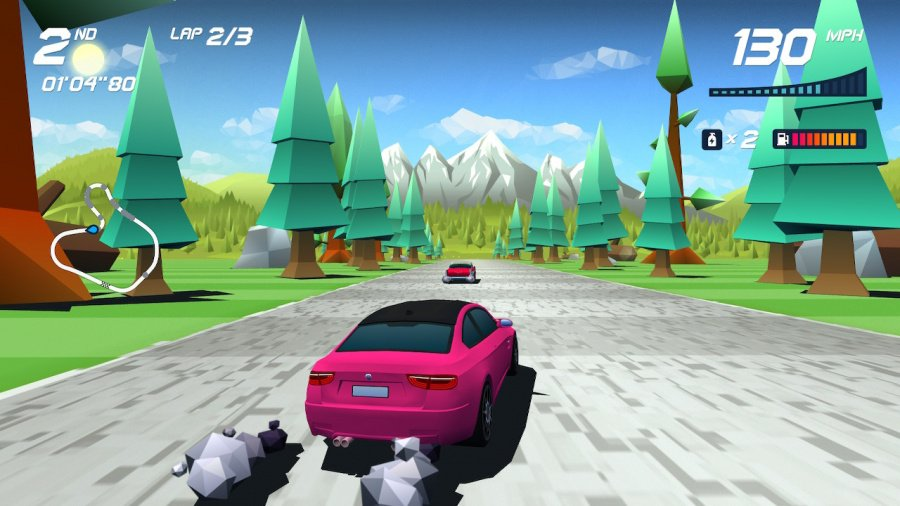 Horizon Chase Turbo Review - Screenshot 1 of 5