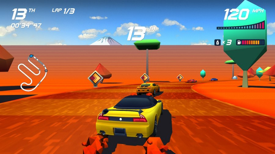 Horizon Chase Turbo Review - Screenshot 3 of 5