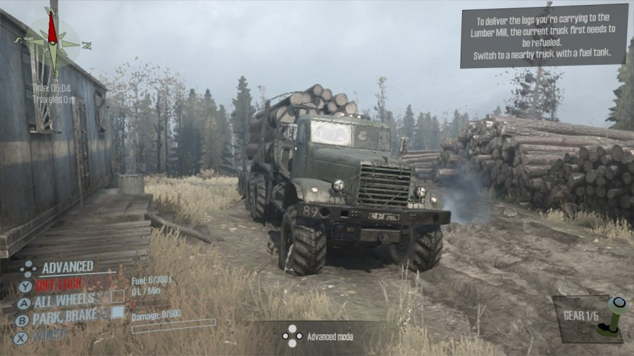 Spintires: MudRunner - American Wilds Edition Review - Screenshot 2 of 4