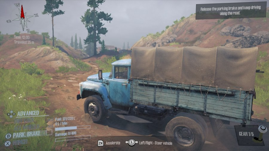 Spintires: MudRunner - American Wilds Edition Review - Screenshot 3 of 4