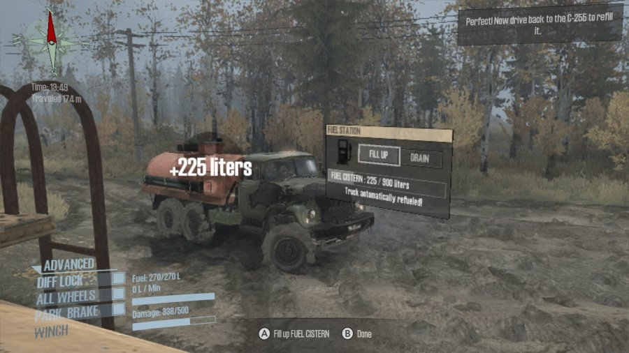 Spintires: MudRunner - American Wilds Edition Review - Screenshot 1 of 4