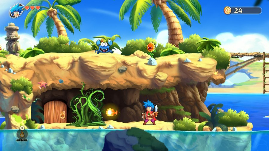 Monster Boy and the Cursed Kingdom Review - Screenshot 4 of 6