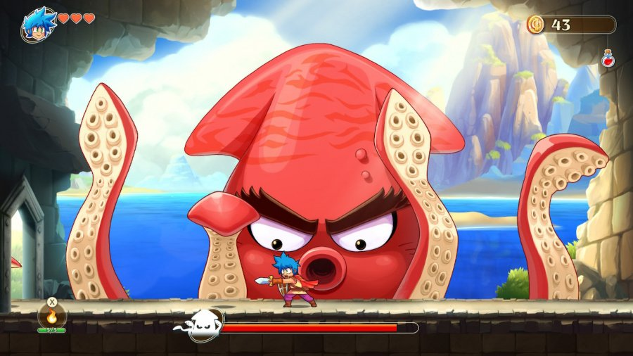 Monster Boy and the Cursed Kingdom Review - Screenshot 3 of 6